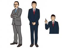 イラスト制作/ビジネスマン